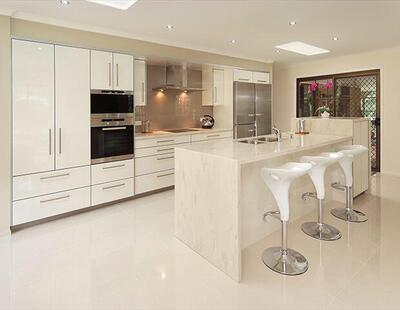 Corian Solid Sparkling White