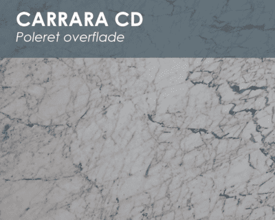 Carrara CD - marmor vindueskarm